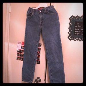 Vintage 550 Levi Jeans Size 6 Mis S Tapered Leg